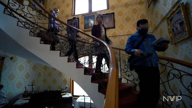 Suasana rumah orangtua suami Nikita Willy. (YouTube Nikita Willy Official)