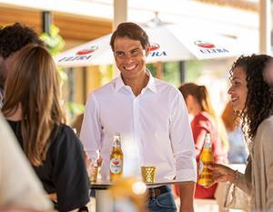 In his first campaign for the brand, Nadal stars in both Amstel ULTRA® and Amstel 0.0 TVC's, filmed from his home Island of Mallorca