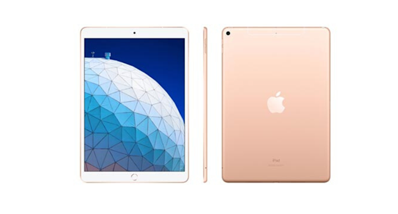 "iPad Air Gold com Tela 10,5"" Wi-Fi + 4G 64 GB"