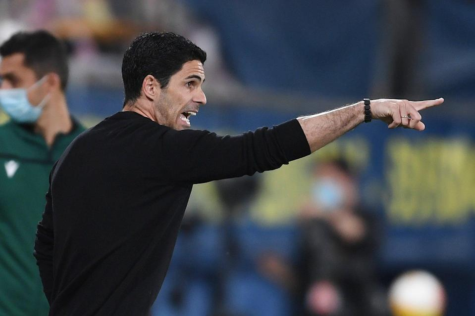 <p>Mikel Arteta's Arsenal side remain alive in the Europa League</p> (Arsenal FC via Getty Images)