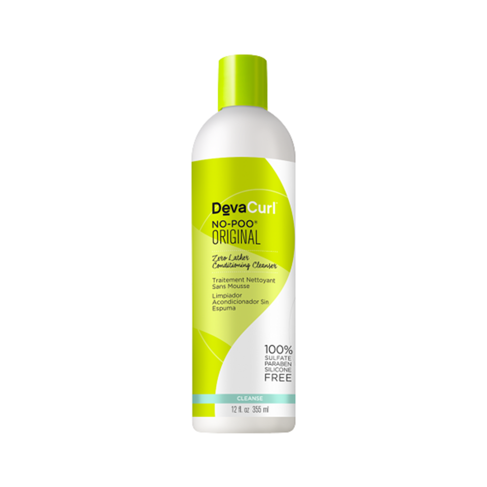 """<p>Co-washing is a major key when it comes to curl care. DevaCurl's classic No-Poo Original Zero Lather Cleansing Conditioner not only gently cleanses product buildup, but once you rinse it out, you'll be greeted with curls that are impossibly soft, bouncy, and defined.</p> <p><strong>$15</strong> (<a href=""""https://www.amazon.com/Devacurl-Original-Cleanser-Sulfate-Silicone/dp/B01J71A2R8"""" rel=""""nofollow noopener"""" target=""""_blank"""" data-ylk=""""slk:Shop Now"""" class=""""link rapid-noclick-resp"""">Shop Now</a>)</p>"""