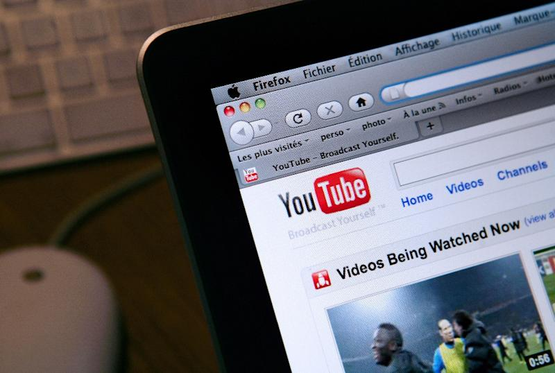 YouTube said that subscribers would enjoy commercial-free access for $9.99 a month starting on October 28, 2015 in the United States (AFP Photo/Loic Venance)