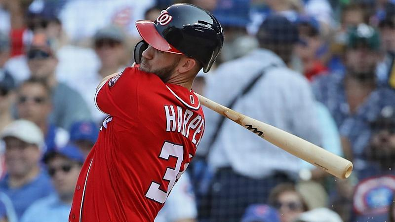 Bryce Harper takes a second meeting with the Phillies