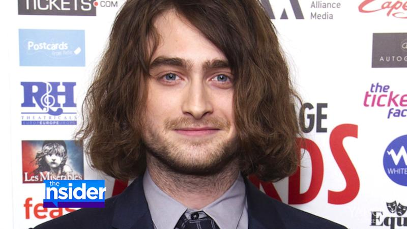 Daniel Radcliffe Sports Long Locks — and Is Barely Recognizable!