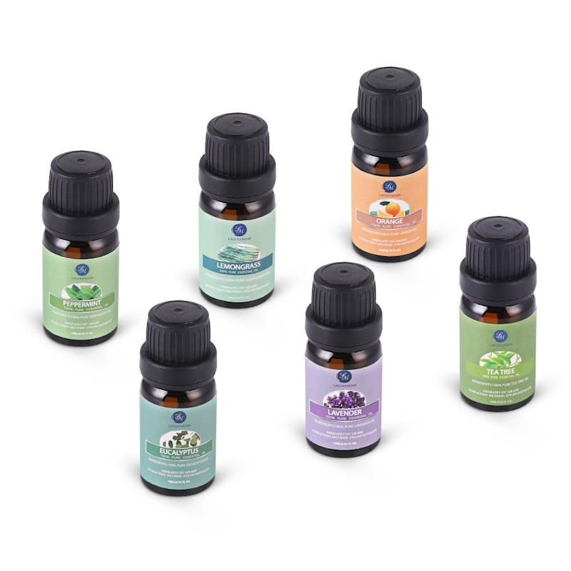 Meet the set of essential oils with over 2,300 perfect, 5-star Amazon reviews. (Photo: Amazon)