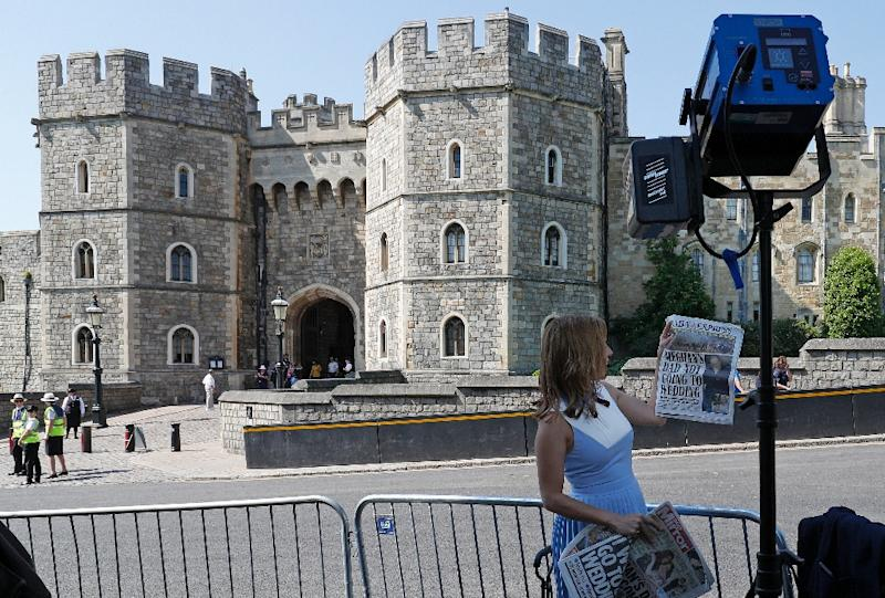More than 100,000 people are expected In Windsor to try and catch a glimpse of the couple