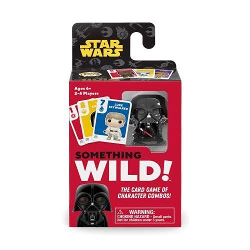 """<p><strong>Funko</strong></p><p>amazon.com</p><p><strong>$7.99</strong></p><p><a href=""""https://www.amazon.com/dp/B0957RL8KG?tag=syn-yahoo-20&ascsubtag=%5Bartid%7C10055.g.29624061%5Bsrc%7Cyahoo-us"""" rel=""""nofollow noopener"""" target=""""_blank"""" data-ylk=""""slk:Shop Now"""" class=""""link rapid-noclick-resp"""">Shop Now</a></p><p>In Something Wild, players try to match either numbers or colors on their cards to make sets — though the rules keep changing as the game goes on, and whoever gets the Darth Vader figure has an advantage. Star Wars fans old and new can all play together. <em>Ages 6+</em></p><p><strong>RELATED:</strong> <a href=""""https://www.goodhousekeeping.com/childrens-products/board-games/g32475624/best-board-games-for-kids/"""" rel=""""nofollow noopener"""" target=""""_blank"""" data-ylk=""""slk:The Best Board Games for Kids"""" class=""""link rapid-noclick-resp"""">The Best Board Games for Kids</a><br></p>"""