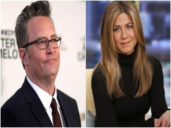 Matthew Perry and Jennifer Aniston (Image source: Instagram)