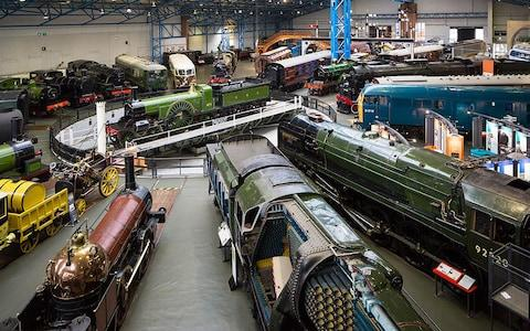 The National Railway Museum, York