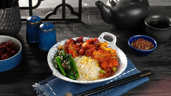 Spicy Firecracker Chicken. (A Combination Of Sweet And Spicy Flavors With A Hint Of Tanginess And Zing from The Szechuan Peppercorns)