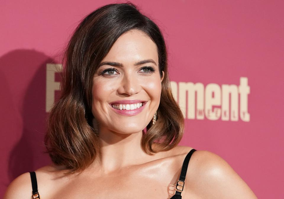 In giving their new son the first name of August, Mandy Moore (pictured here in 2019) and her musician husband Taylor Goldsmith are part of a trend. (Photo: Rachel Luna/FilmMagic/Getty Images)