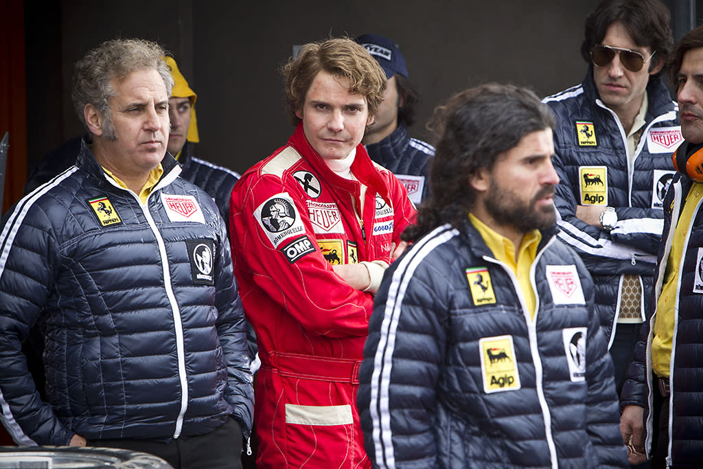 "Daniel Brühl in Universal Pictures' ""Rush"" - 2013"