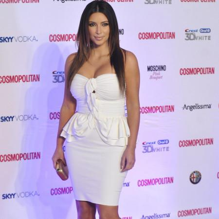 Kim Kardashian blasts father's widow