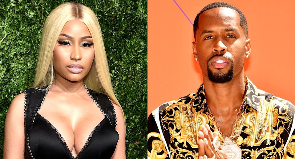 Four years after Nicki Minaj and her ex-boyfriend Safaree Samuels broke up, they are slinging accusations. (Photo: Getty Images)
