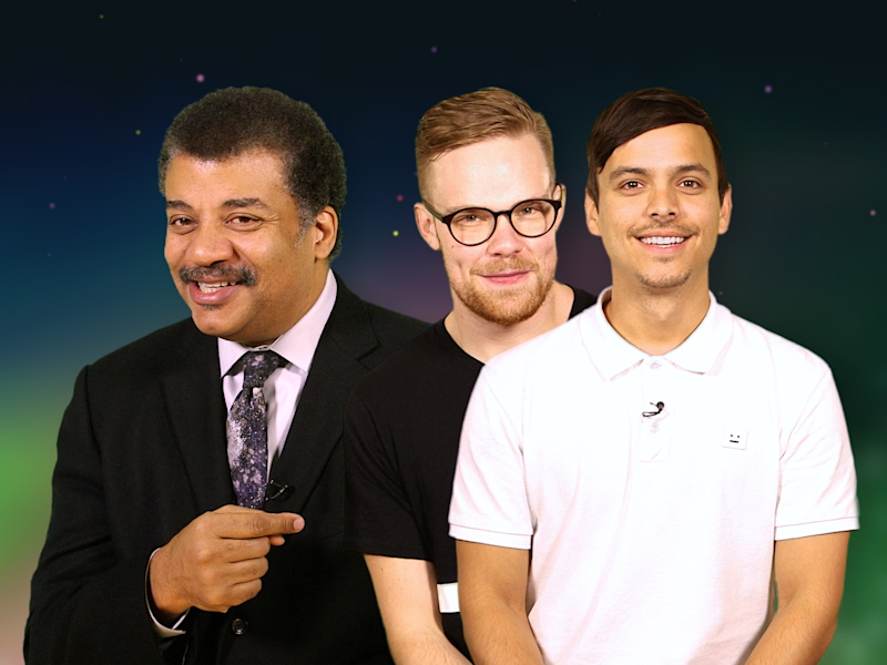 neil degrasse tyson and asapscience discuss flying cars immortality