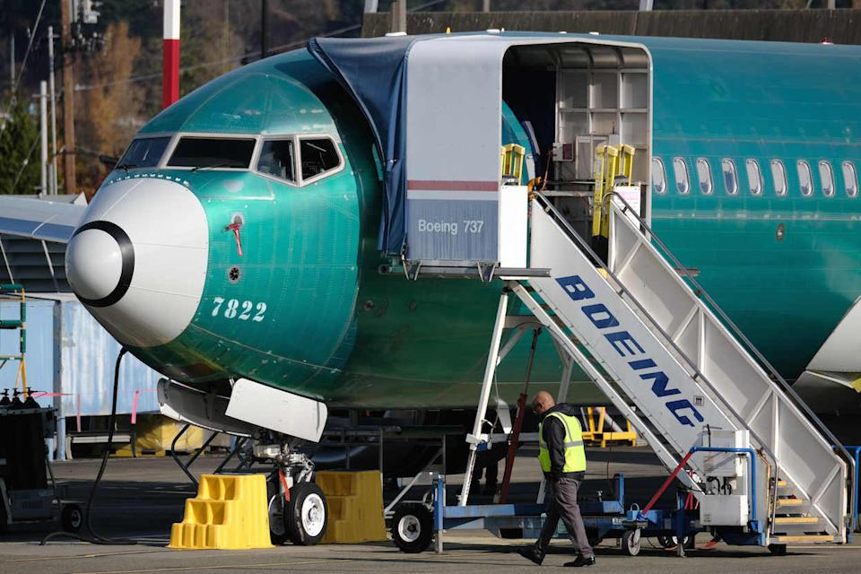 The Boeing 737 Max series was grounded around the world after two Max 8 planes crashed in October 2018 and March 2019, causing 346 deaths. Boeing wants the aircraft to return to the skies next year [(Picture: PA)