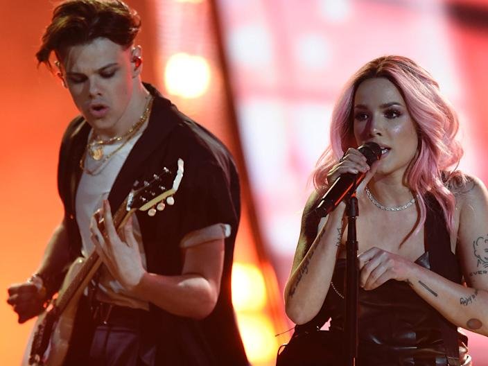 yungblud and halsey march 2019