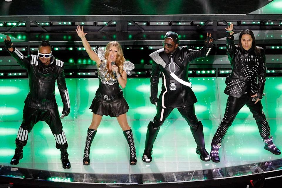 Throwback: Fergie with the group (Tom Pennington/Getty Images)