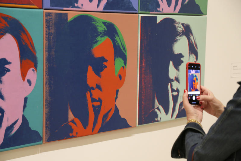 California show explores Warhol's social, tech foreshadowing