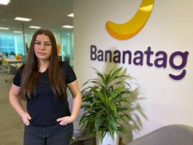 Agata Zasada, vice-president of people and culture at Vancouver-based Bananatag, says the company's 'choose your own adventure' schedule has kept all of their staff employed over the course of the pandemic