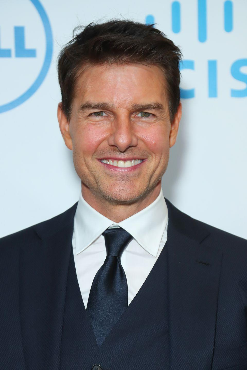 """<p>If you need him, <a href=""""https://www.cosmopolitan.com/entertainment/celebs/a34987258/tom-cruise-screams-mission-impossible-7-covid-19/"""" rel=""""nofollow noopener"""" target=""""_blank"""" data-ylk=""""slk:you can find him yelling at people on set of the latest Mission Impossible movie."""" class=""""link rapid-noclick-resp"""">you can find him yelling at people on set of the latest <em>Mission Impossible</em> movie.</a></p>"""