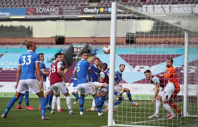 Brighton end Burnley's home run with win at Turf Moor