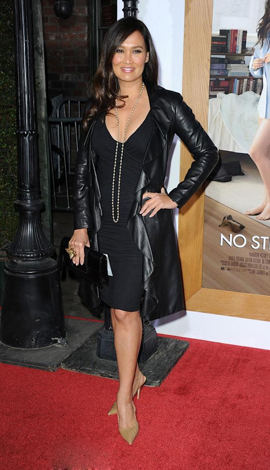 """<a href=""""http://movies.yahoo.com/movie/contributor/1800019767"""">Tia Carrere</a> attends the Los Angeles premiere of <a href=""""http://movies.yahoo.com/movie/1810159162/info"""">No Strings Attached</a> on January 11, 2011."""