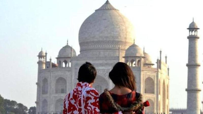 Taj Mahal re-opens after months. No couple poses, allowed