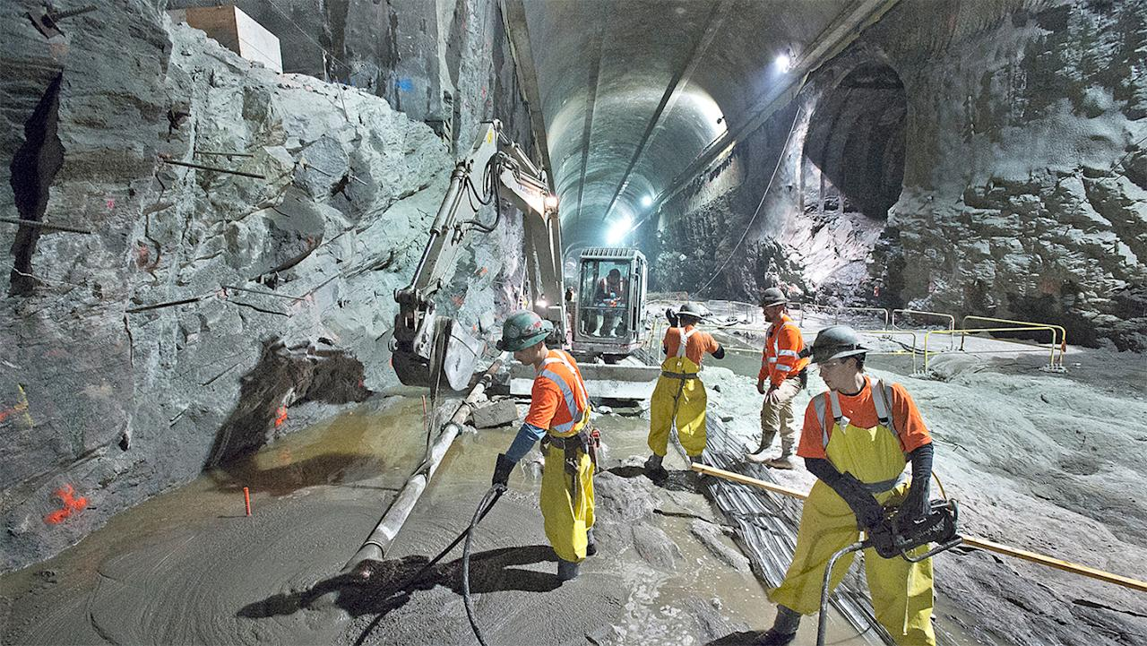 The East Side Access project