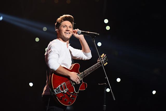 "<p>The members of One Direction (which has been on hiatus since early 2016) are busy with solo projects. This is Horan's second solo single, following the top 20 hit ""This Town."" Horan will turn 24 this summer. Current Hot 100 ranking: No. 52. <a href=""https://www.youtube.com/watch?v=nBmNcLBaPUE"" rel=""nofollow noopener"" target=""_blank"" data-ylk=""slk:LISTEN HERE"" class=""link rapid-noclick-resp""><strong>LISTEN HERE</strong></a><br>(Photo: Getty Images) </p>"
