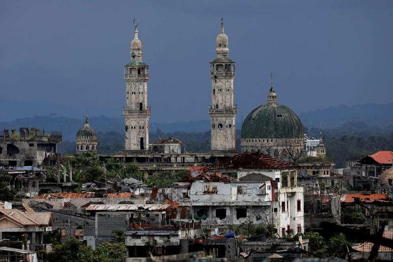 FILE PHOTO: Marawi's ruins a reminder of Islamic State's devastating reach