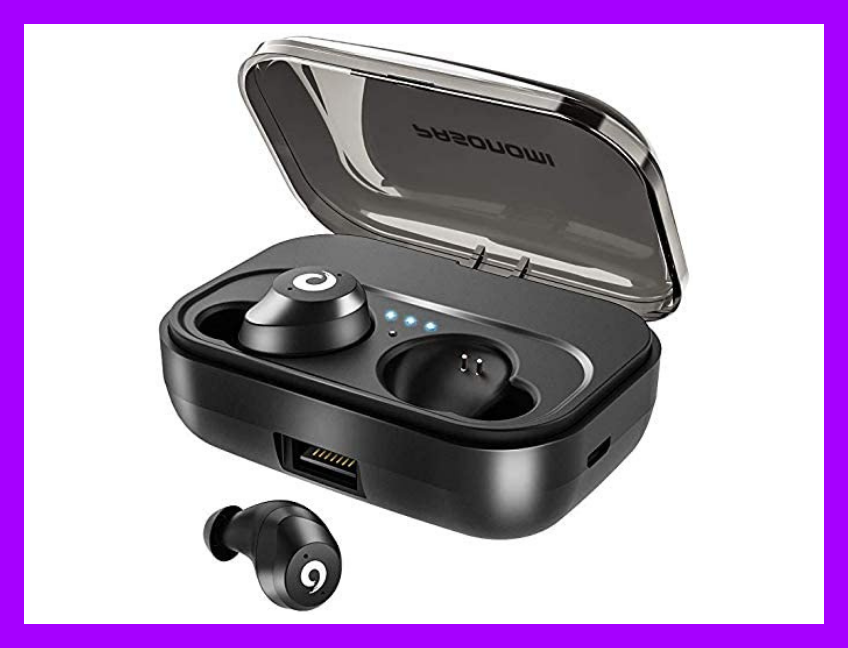 These wireless earbuds are waterproof too! (Photo: Amazon)