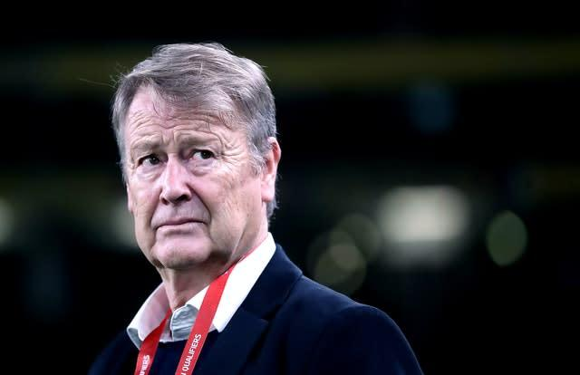 Age Hareide's contract will expire in the summer (Niall Carson/PA)