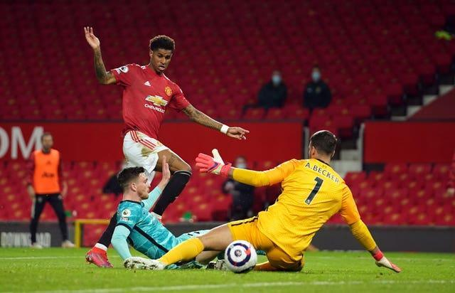 Rashford compared England v Scotland games to those he plays for Manchester United against Liverpool.