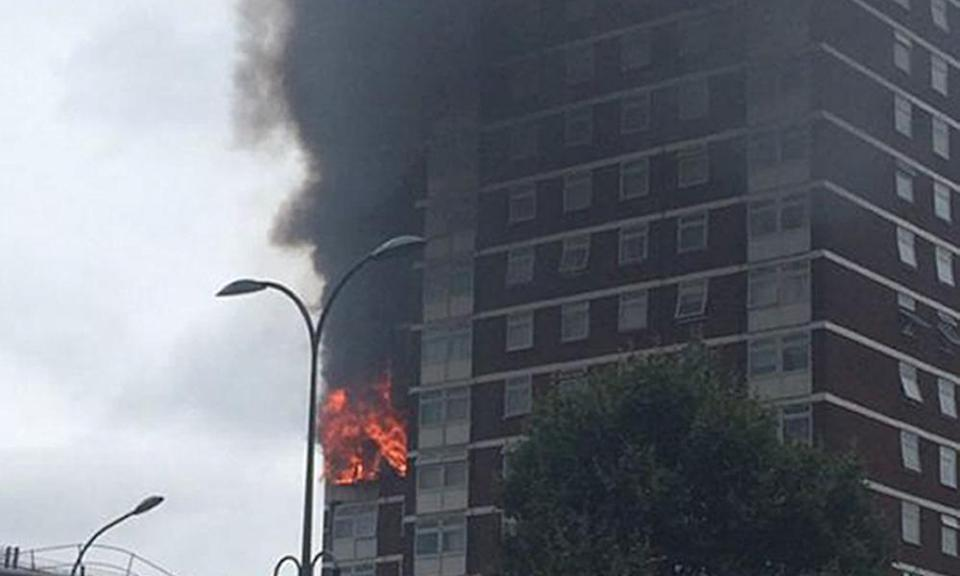 The fire in Shepherd's Bush last August caused by a faulty tumble dryer.