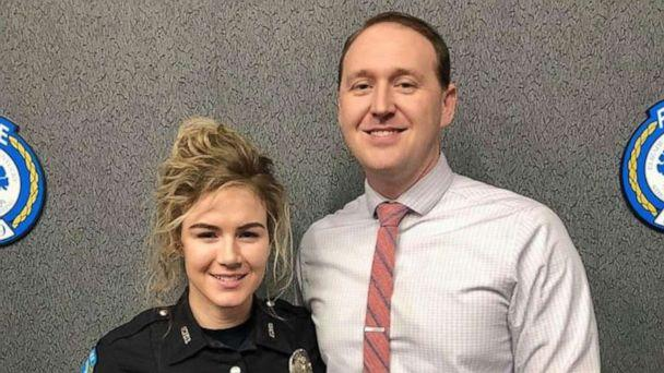 PHOTO: Detective Chase McKeown and his wife, Officer Nicole McKeown, are pictured in this undated image. They thwarted an attempted robbery at a Louisville Raising Cane's Chicken Fingers on Saturday, Feb. 15, 2020. (Louisville Metro Police Department)