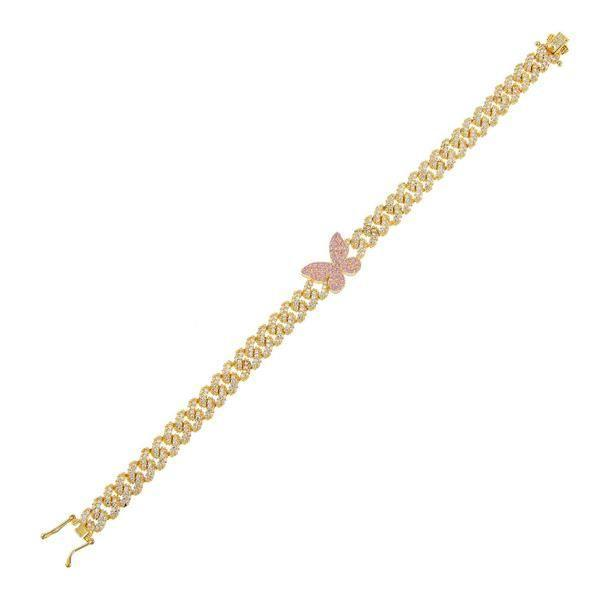 "<p><strong>Adinas</strong></p><p>adinasjewels.com</p><p><strong>$150.00</strong></p><p><a href=""https://adinasjewels.com/products/pave-pink-butterfly-chain-link-bracelet?refSrc=4660730593354&nosto=productpage-nosto-1"" rel=""nofollow noopener"" target=""_blank"" data-ylk=""slk:Shop Now"" class=""link rapid-noclick-resp"">Shop Now</a></p><p>This is basically a replica of <a href=""https://www.seventeen.com/celebrity/celebrity-couples/a12013586/travis-scott-gave-kylie-jenner-a-dollar60k-diamond-butterfly-choker-for-her-birthday/"" rel=""nofollow noopener"" target=""_blank"" data-ylk=""slk:the chain Travis Scott gave Kylie Jenner"" class=""link rapid-noclick-resp"">the chain Travis Scott gave Kylie Jenner</a> – except it doesn't cost $60k. </p>"