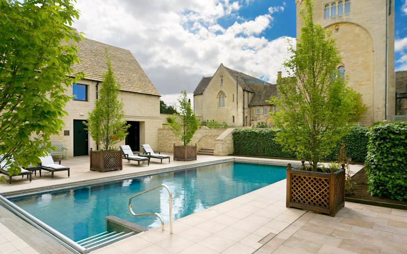 Ellenborough Park, Gloucestershire - one of Britain's best hotels with outdoor pools