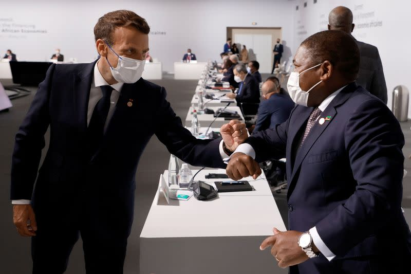 Summit on the Financing of African Economies, in Paris