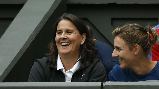 Conchita Martinez's experience is having the desired effect for Garbine Muguruza after she booked a place in the Wimbledon final.