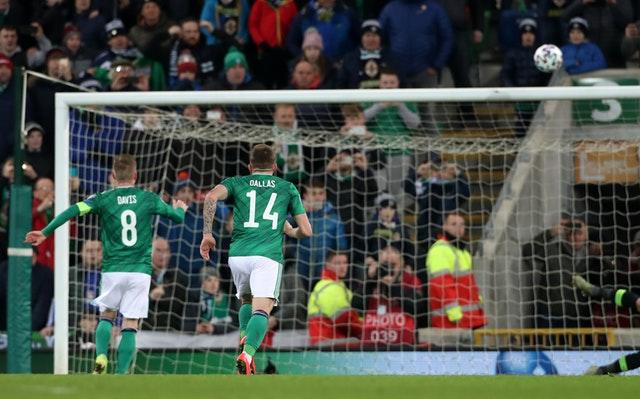 Steven Davis' penalty miss proved costly (Liam McBurney/PA)