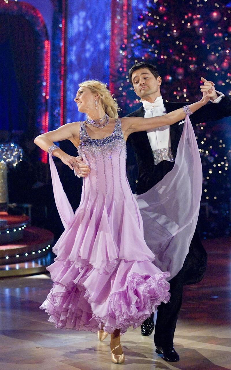 Tom Chambers took part in the television show Strictly Come Dancing and won - Credit: Guy Levy/BBC