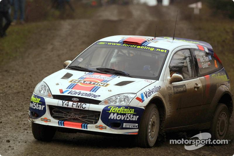 "9. Rally de Chipre 2001: 66,60 km/h<span class=""copyright"">Ford Motor Company</span>"