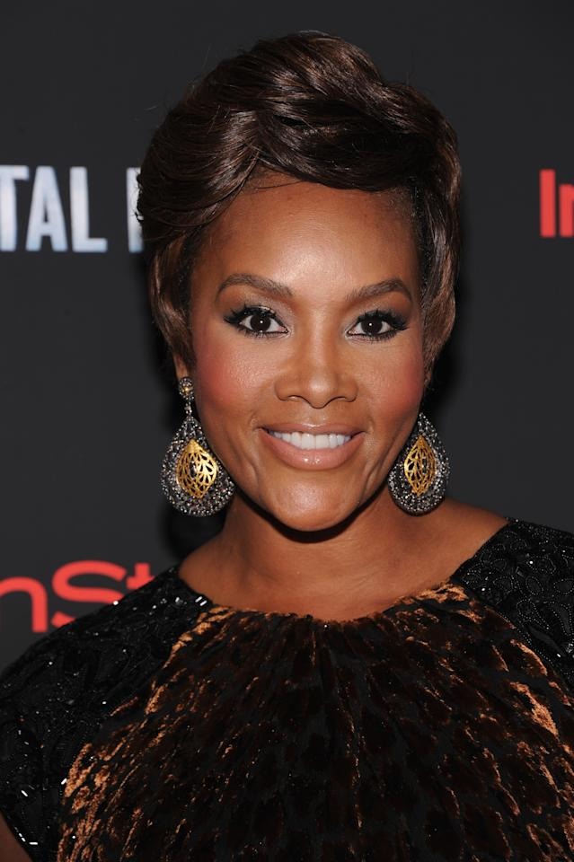 """NEW YORK, NY - AUGUST 02:  Actress Vivica A. Fox attends the """"Total Recall"""" New York Premiere at Chelsea Clearview Cinemas on August 2, 2012 in New York, United States.  (Photo by Jamie McCarthy/Getty Images)"""