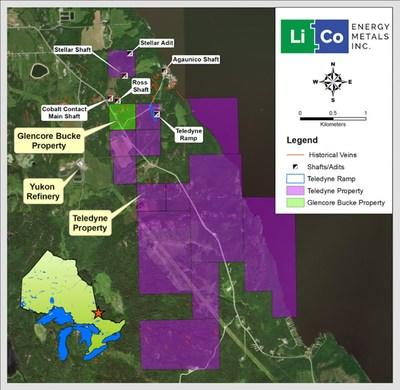LiCo Energy Metals - Intersects Numerous Commercial Grade Cobalt Zones at Teledyne Cobalt Property Similar To Previously Released Results From its Glencore Bucke Cobalt Property