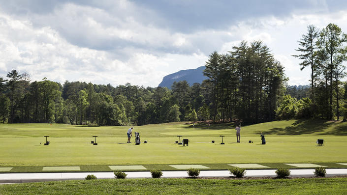 Award-winning golf-course architect Tom Fazio designed the par-71 course, which is complemented by a driving range and practice putting green. - Credit: Ball & Albanese
