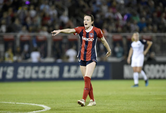 Rose Lavelle's head injury in an August game between the Washington Spirit and Portland Thorns is one of the most notable head injury incidents this season. (Getty)