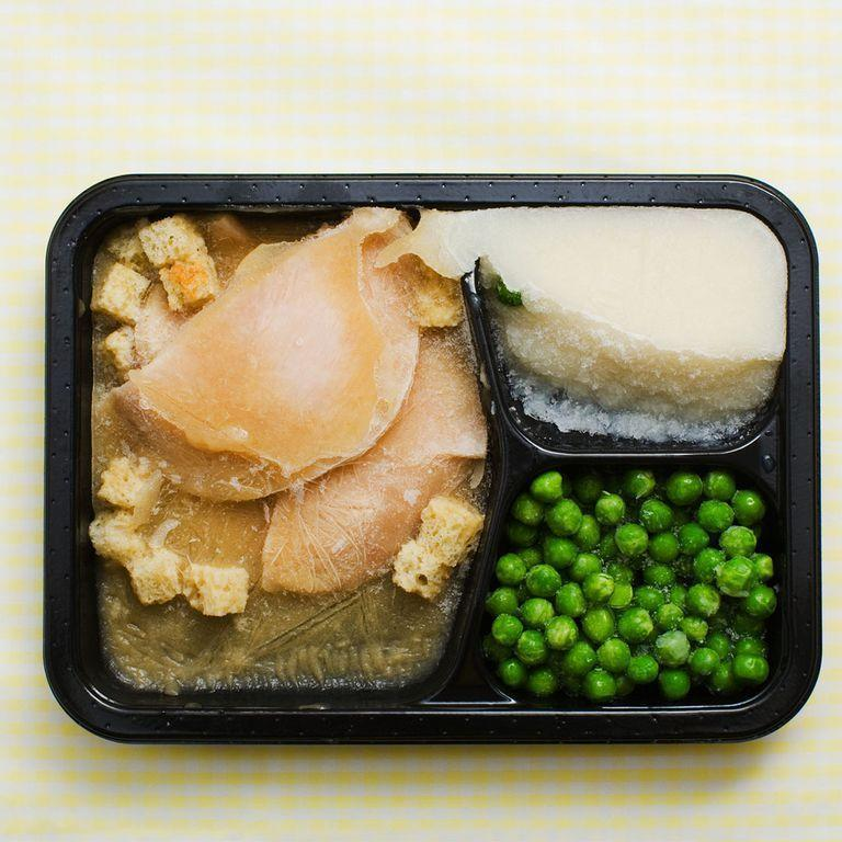 """<p>Frozen meals that are marketed as low-cal and emphasize portion control often clock in at less than 300 calories per entrée and lack vegetables and whole grains, leaving you hungry again in no time, says Costa. These products also tend to be loaded with sodium to preserve freshness (hello, bloat!). """"As a healthier and more nutritious alternative, cook your favorite heart-healthy recipes in bulk and freeze individual portions for convenience,"""" says Costa.</p>"""