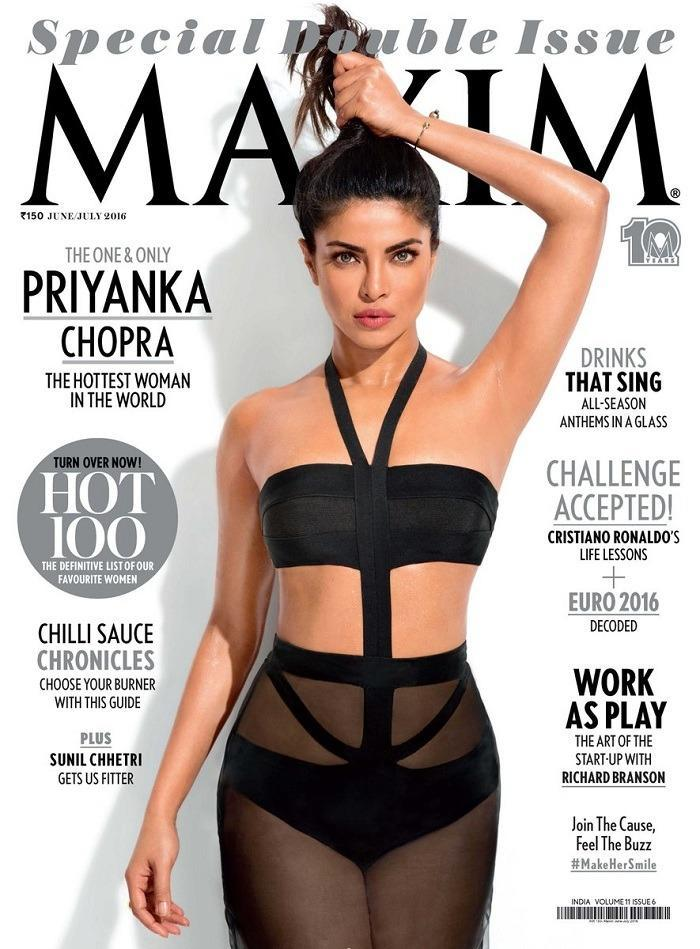 <p>The recent Maxim cover had her in a smouldering hot avatar. The actress slays it totally on this Maxim cover. The sheer black swim suit, subtle makeup with her hair tied up only left us drooling!</p>