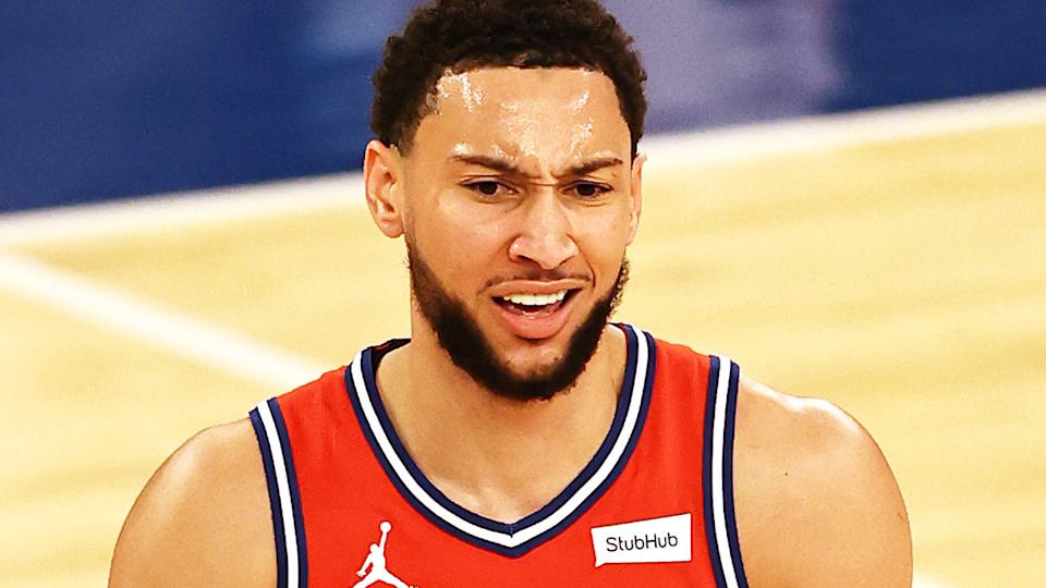 Ben Simmons is determined for the Philadelphia 76ers to trade him before the next NBA season.